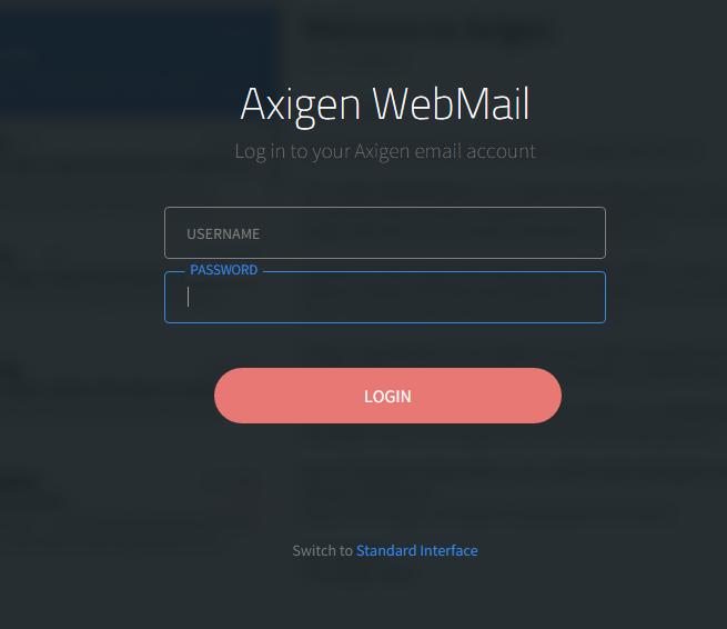 login-Axigen